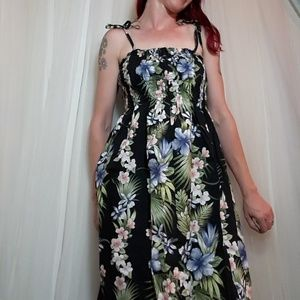 Vtg Pacific Apparel Hawaiin Dress. One size. Smock
